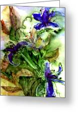 Starflower Greeting Card
