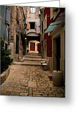 Stari Grad Steet Greeting Card
