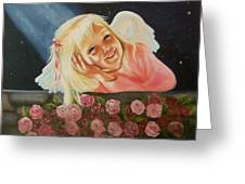 Starlight Angel Greeting Card