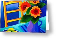 Starry Night   I  Greeting Card by John  Nolan