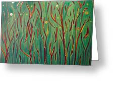 Starry Woods Greeting Card