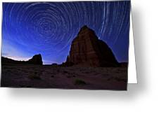 Stars Above The Moon Greeting Card