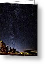 Stars At Lake Tahoe Greeting Card