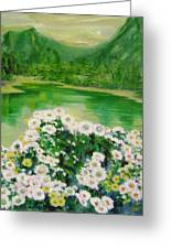 Stars By The River Side Greeting Card