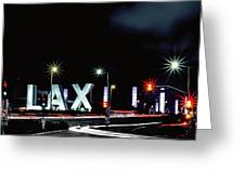 Stars Over Lax Greeting Card