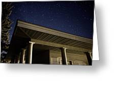 Stars Over The Pavilion Greeting Card