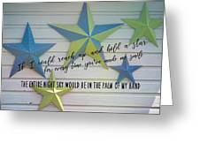 Stars Quote Greeting Card