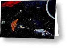 Startrek Greeting Card