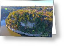 Starved Rock Ill, Greeting Card