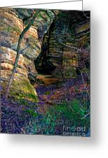 Starved Rock No 2 Greeting Card
