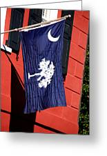 State Flag Of South Carolina Greeting Card