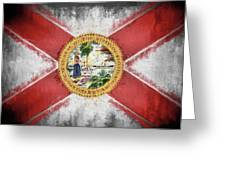 State Of Florida Flag Greeting Card