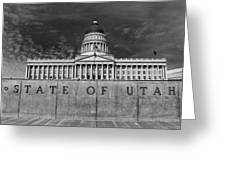 State Of Utah  Greeting Card