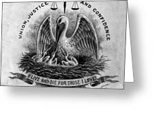 State Seal Greeting Card