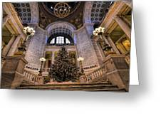 Stately Christmas Tree Greeting Card