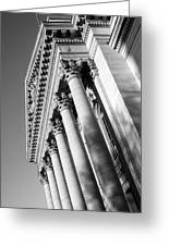 Stately Colonnade Greeting Card