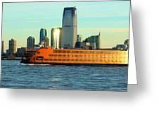 Staten Isalnd Ferry Barberi Greeting Card