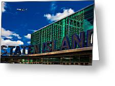 Staten Island Ferry Terminal Greeting Card