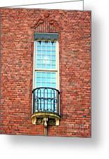 Stadshuset Window Greeting Card