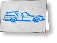 Station Wagon Greeting Card