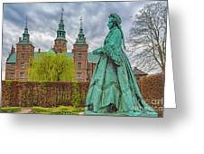 Statue At Rosenborg Castle Greeting Card
