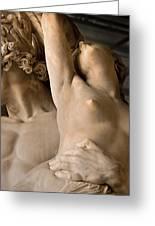 Statue In Piazza Del Signoria Florence Greeting Card