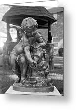 Statue Greeting Card