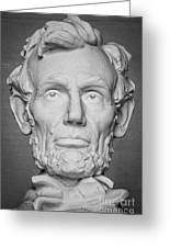Statue Of Abraham Lincoln - Lincoln Memorial #6 Greeting Card
