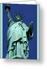 Statue Of Liberty 13 Greeting Card