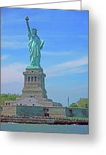 Statue Of Liberty 21 Greeting Card