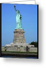 Statue Of Liberty 3 Greeting Card