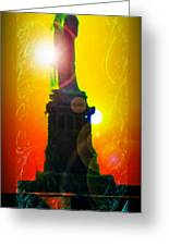 Statue Of Liberty 7 Greeting Card