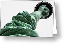 Statue Of Liberty, Arm, 3 Greeting Card
