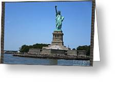 Statue Of Liberty New York America July 2015 Photo By Navinjoshi At Fineartamerica.com  Island Landm Greeting Card
