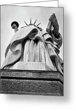 Statue Of Liberty, Tall Greeting Card