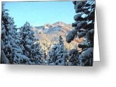 Staunton Mountain Greeting Card by Steven  Michael
