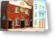 St.dominique Street Synagogue Greeting Card