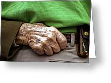 Steadying Hand Greeting Card