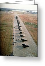Stealth Fighters 37 Tactical Fighter Wing Greeting Card