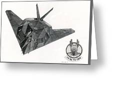 Stealth Greeting Card