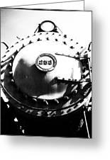 Steam Locomotive #253 Greeting Card
