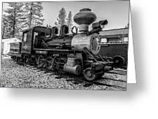 Steam Locomotive 5 Greeting Card