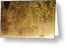 Steam Mist Greeting Card