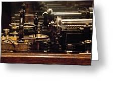 Steam Punk - Diy Typewriter Greeting Card