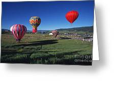 Steamboat Springs Balloon Festival Greeting Card