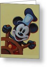 Steamboat Willy Greeting Card