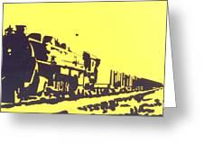 Steamer Greeting Card