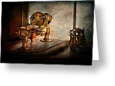 Steampunk - Gear Technology Greeting Card