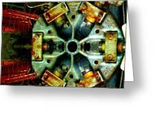 Steampunk Machination 1 Greeting Card