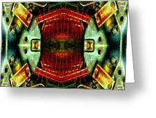 Steampunk Machination 4 Greeting Card